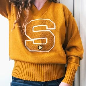 RARE 1950's football varsity sweater